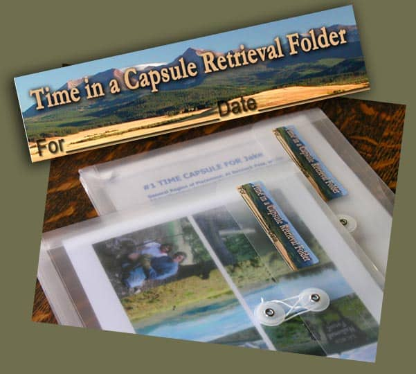 Preparing Time Capsule Retrieval Folders is a necessary step in your adventure.