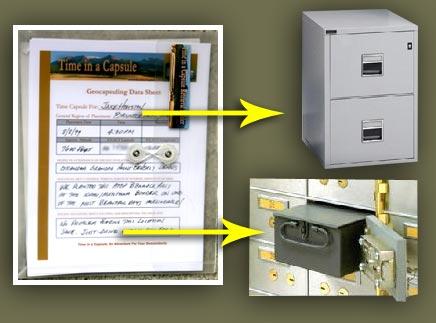 Arrival Back Home: Long term storage for the Time Capsule Retrieval Folder