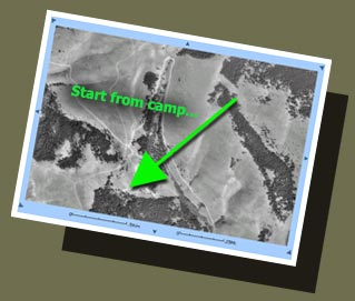Place topographical maps in your Time Capsule Retrieval Folder with your Arrival Back Home