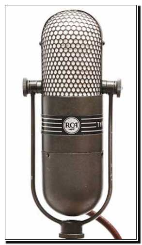Media: Old RCA Microphone