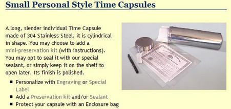 Time Capsule Retailers