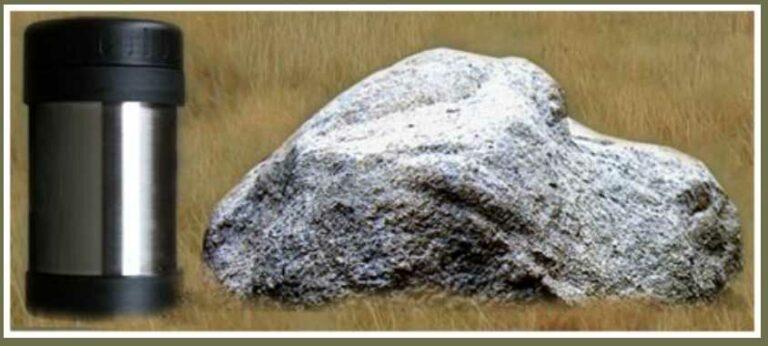 Empty Rock and Capsule